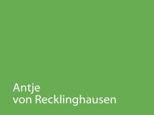 Antje von Recklinghausen